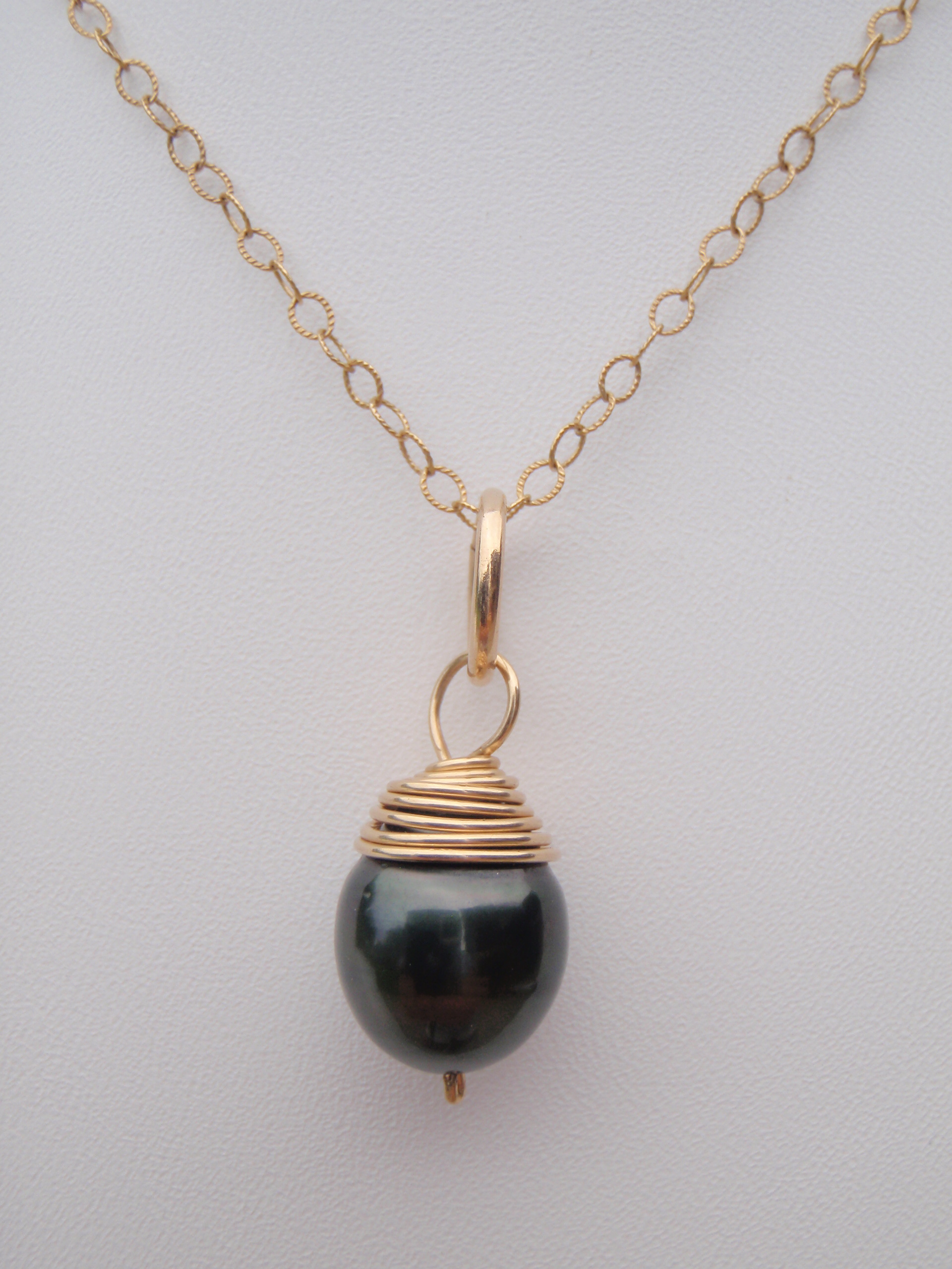 oval single pearl image necklace products choker the black jewelry
