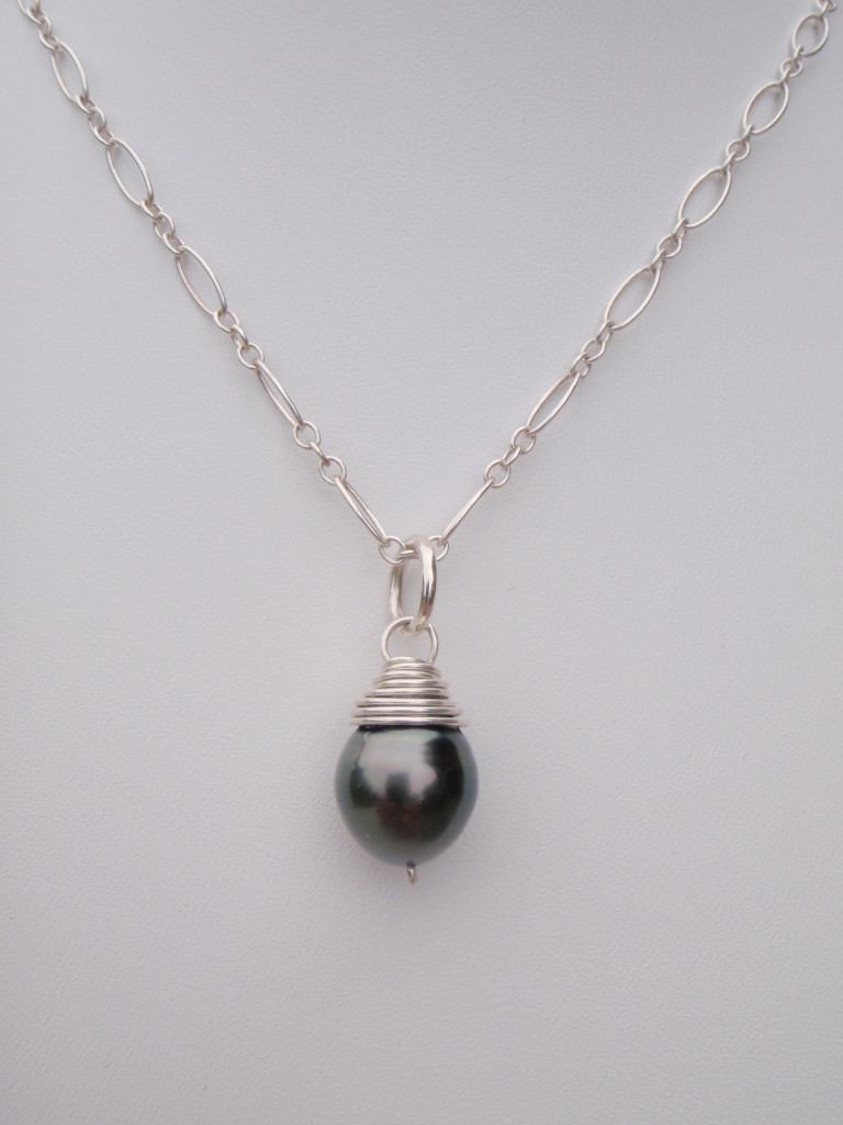Single Tahitian Silver