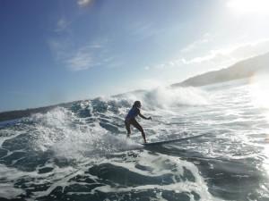 artist surfing